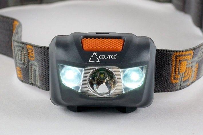 LED svetlo (baterka) CEL-TEC HL125 na čelo
