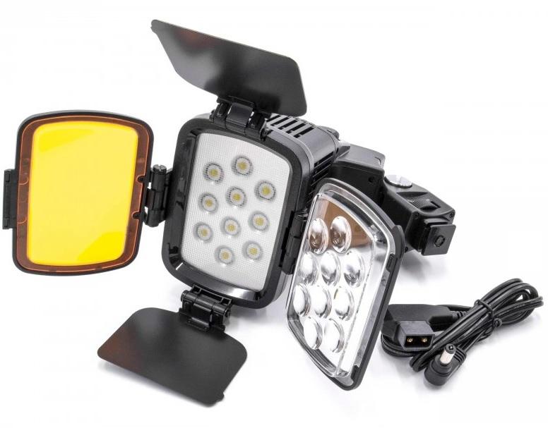 Prídavné svetlo VL001B -1200LUX na kameru a fotoaparáty