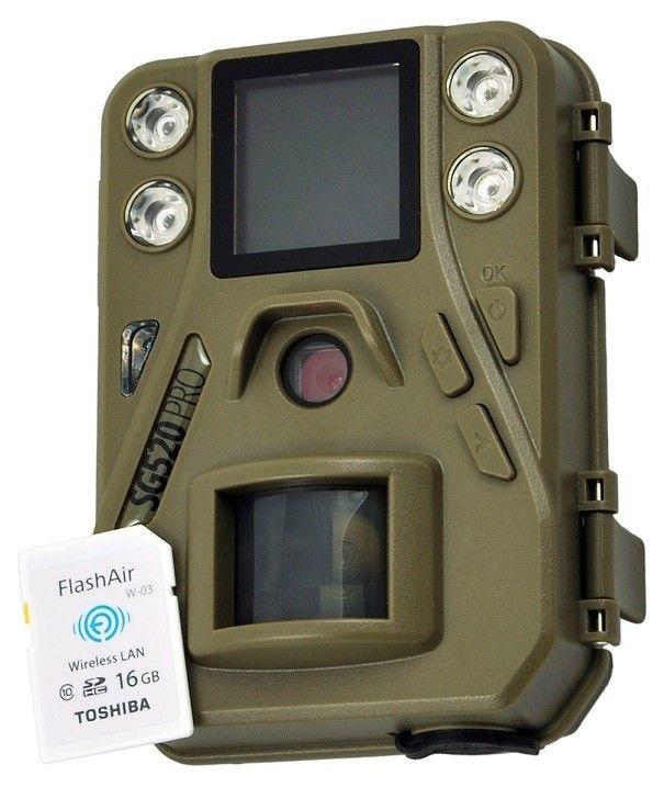 Fotopasca ScoutGuard SG520 Pre W + 16GB pam. karta