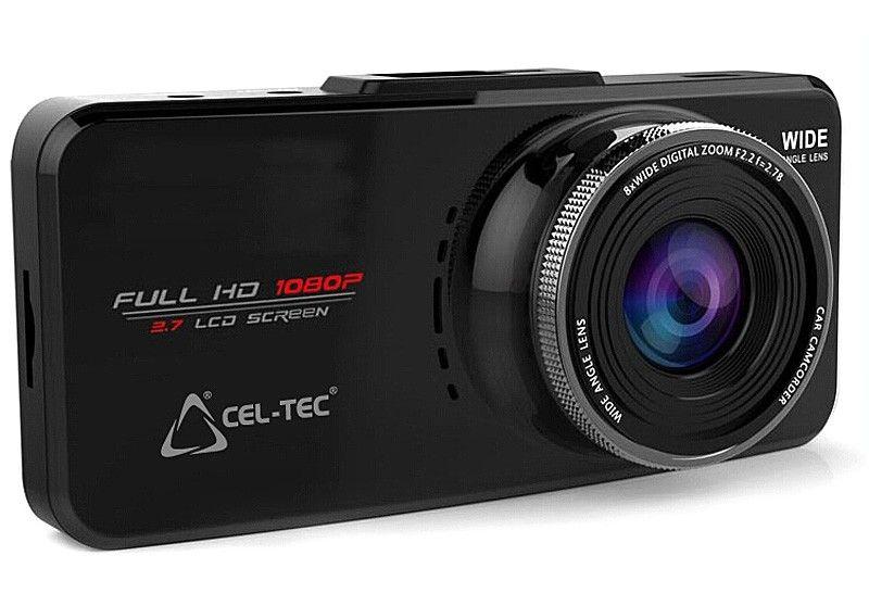 Palubná Full-HD kamera CEL-TEC E08s s GPS modulom - Black Elegance CZ
