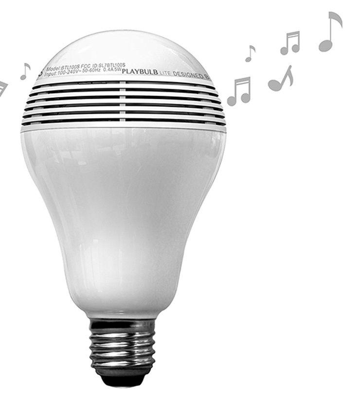 MiPow Playbulb Lite inteligentná LED Bluetooth žiarovka s repreduktorem