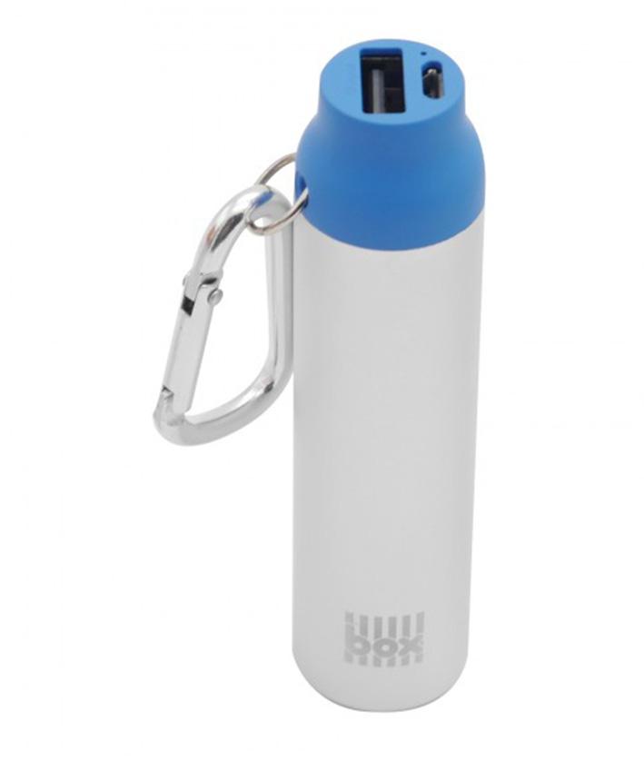 BOX Preducts 2000mAh Carabiner Pocket Charger - modrý