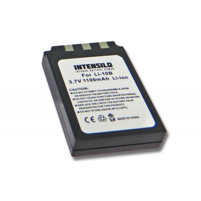 Batéria pre Olympus LI-10B, LI-12B, DB-L10B - 1100 mAh