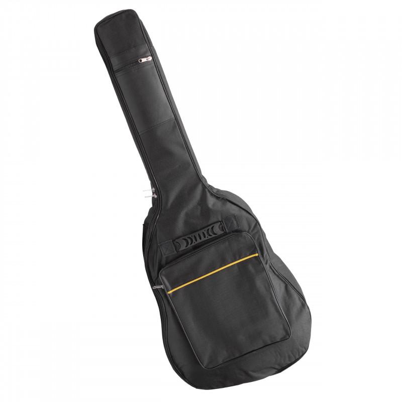 3v1 púzdro, ruksak, taška na gitaru - čierno/žlté