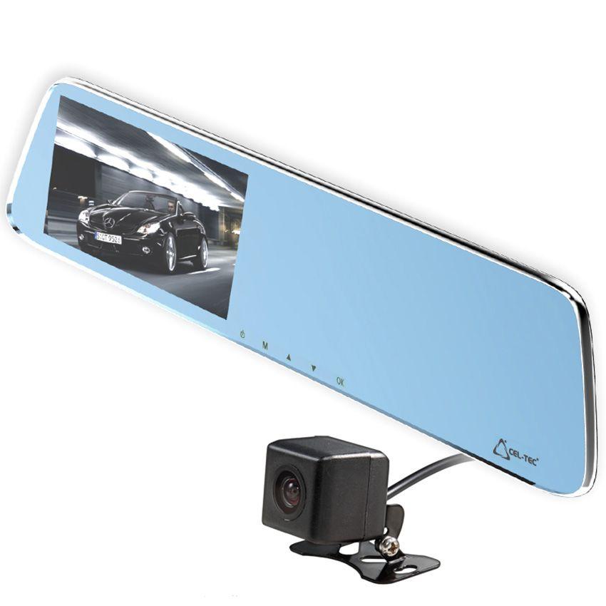 CEL-TEC kamera do auta ve zpetném zrcátku M6 DUAL