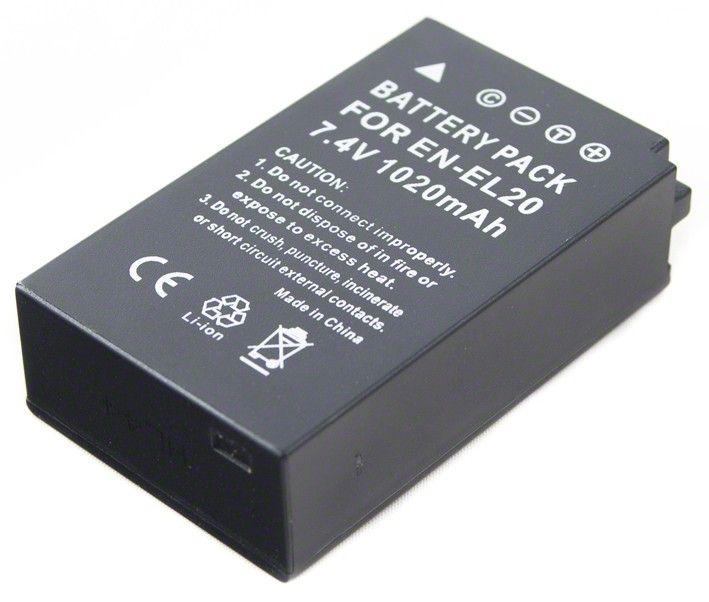 Batéria pre Nikon EN-EL20 - 1020 mAh