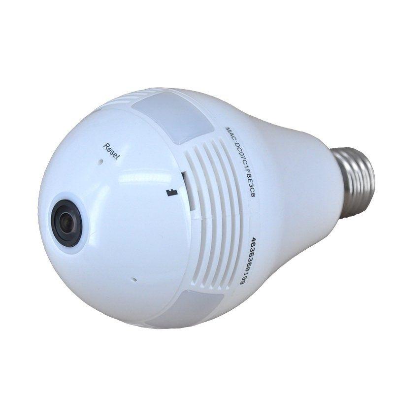 CEL-TEC panoramatická kamera v žárovce Bulb Wifi 360