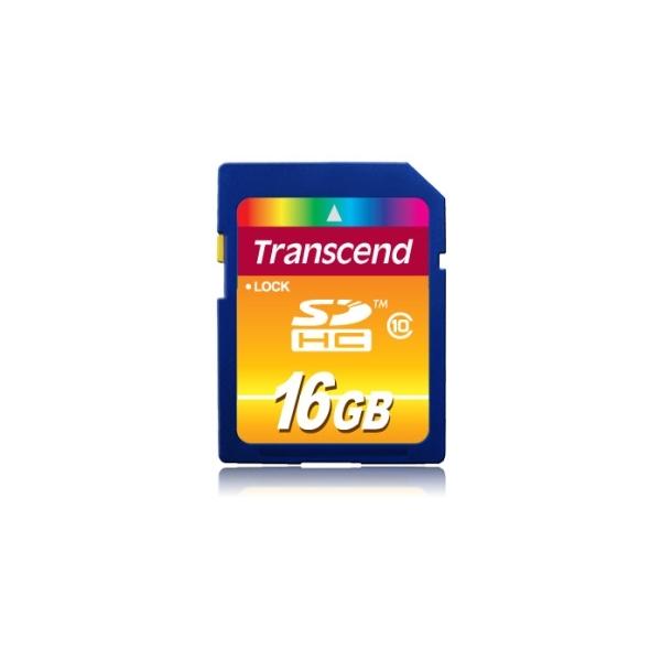 Pamäťová karta 16GB SDHC Card Class 10 - TRANSCEND