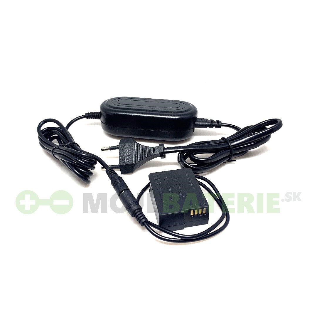 Napájací AC adaptér pre Panasonic Lumix DMC-G80/DMC-G80M