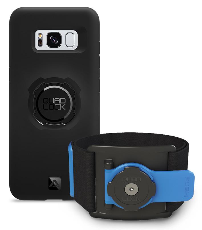 Quad Lock Run Kit pre Galaxy S8 (športová sada s úchytom na ruku)