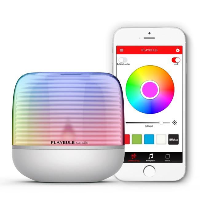 MiPow Playbulb Candle 2 inteligentná LED Bluetooth svíčka