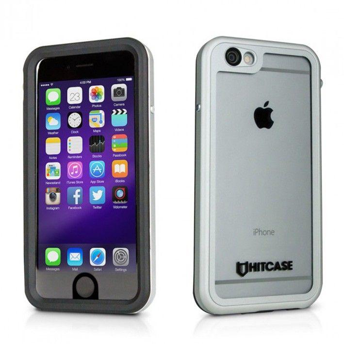 HITCASE Shield pre iPhone 6/6s - stříbrný