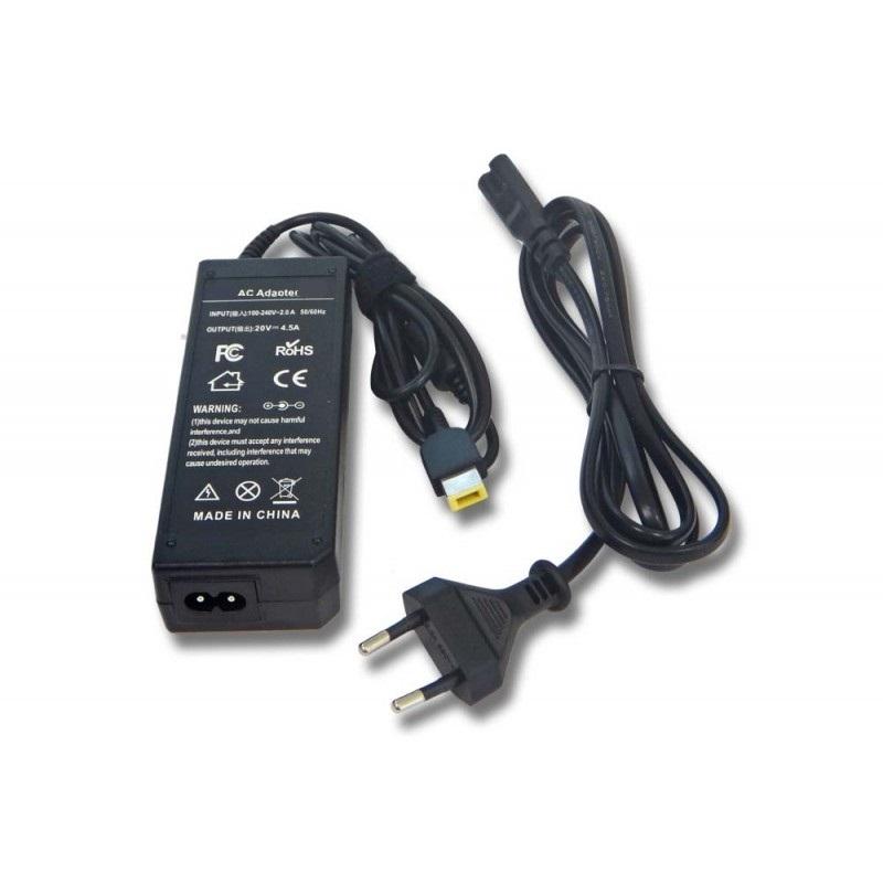 AC adaptér pre Lenovo 20V 4.5A 90W - plochý konektor slim