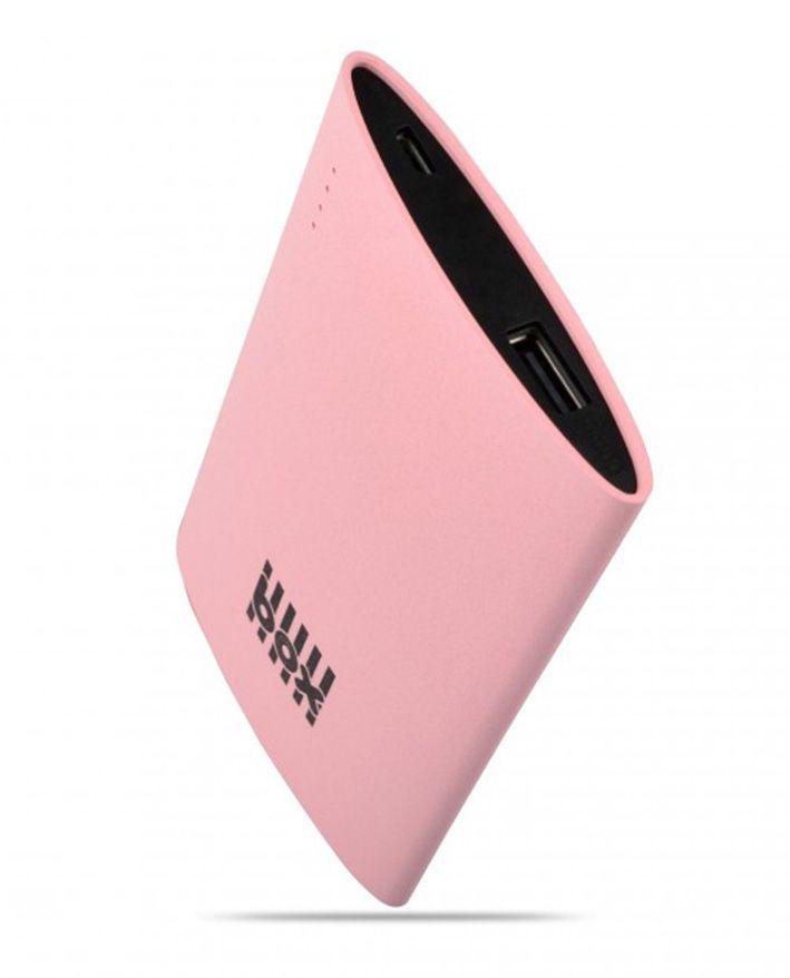 BOX Preducts 3000mAh Portable Smartphone Charger 2.1A - růžový