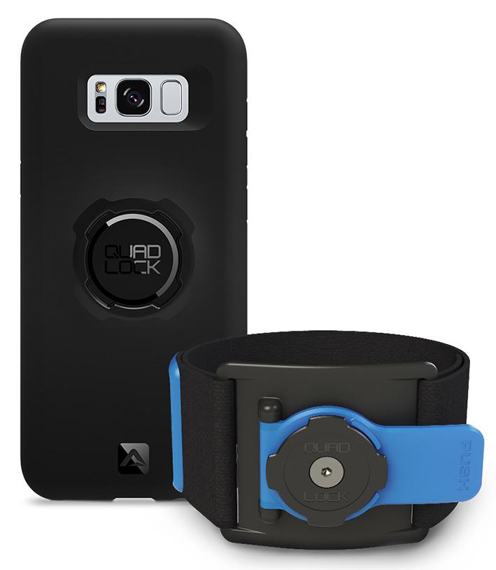 Quad Lock Run Kit pre Samsung Galaxy S8+ (športová sada na ruku)