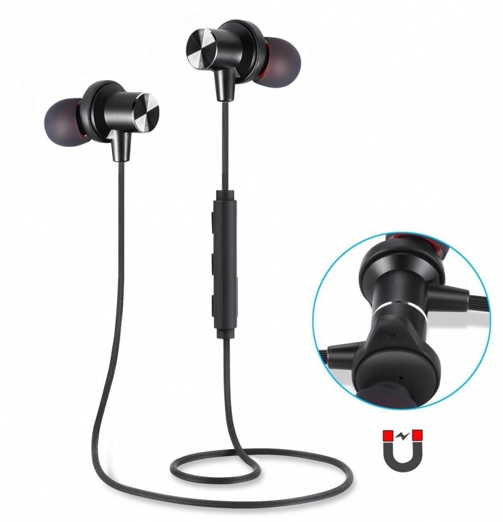 CEL-TEC bezdrôtové bluetooth sluchátka Q1 Magnetic
