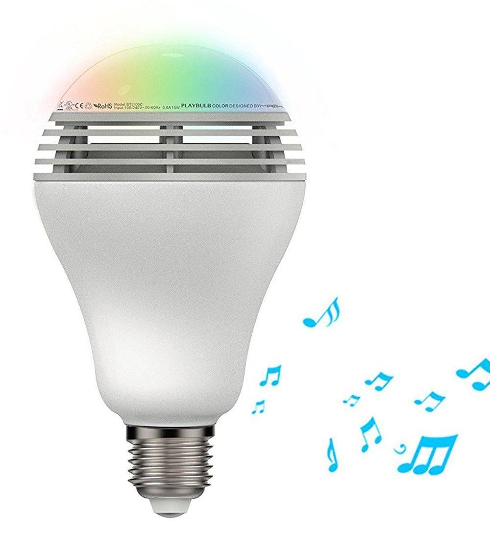 MiPow Playbulb Color inteligentná LED Bluetooth žiarovka s repreduktorem