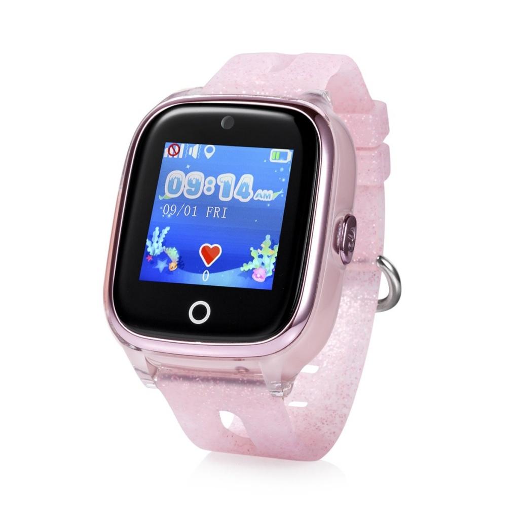 CEL-TEC  Detské hodinky s GPS a fotoaparátem KT01 Pink