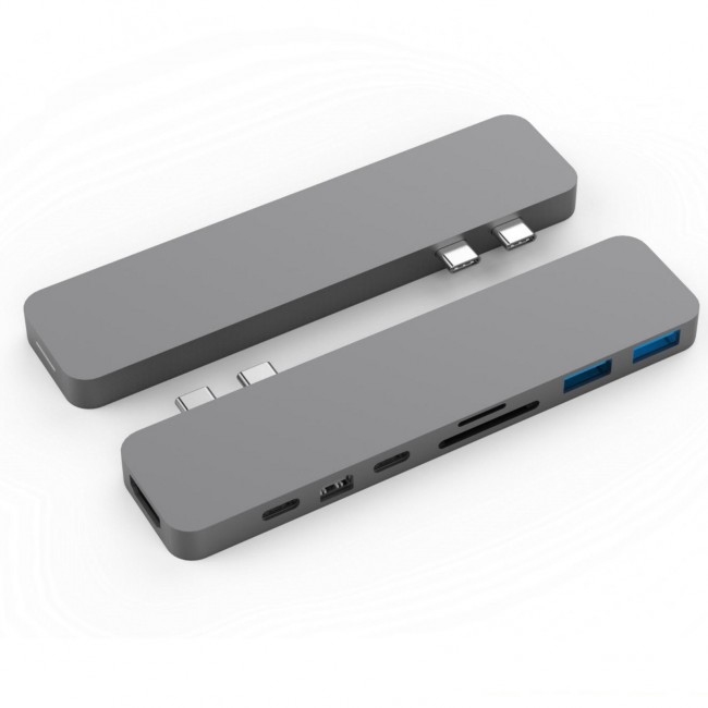 HyperDrive PRE USB-C Hub pre MacBook Pre - Space Gray