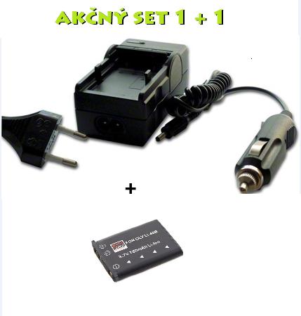 Akčný set PE: Nabíjačka + batéria Li-42B