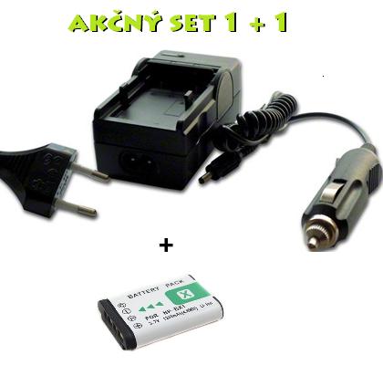 Akčný set: Nabíjačka + batéria NP-BX1 pre Sony