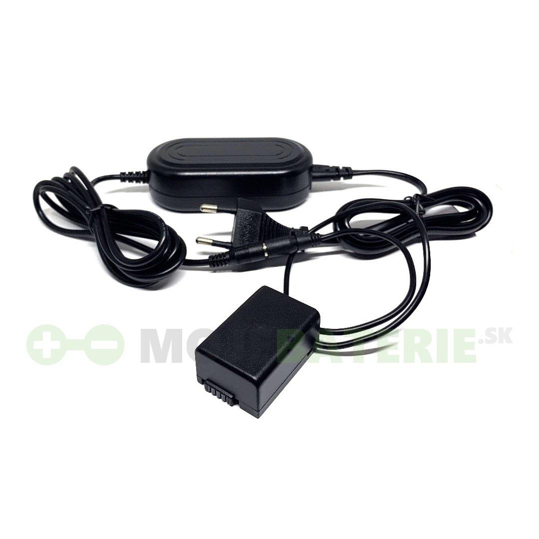 Napájací AC adaptér pre Panasonic Lumix FZ62