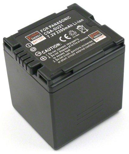 Batéria pre Panasonic CGR-DU06, CGA-DU07, CGA-DU07A/1B, CGA-DU21, CGA-DU12, CGA-DU12A, CGA-DU14, CGA-DU14A/1B, CGA-DU21A/1B, CGR-DU07, VW-VBD07 - 2200 mAh