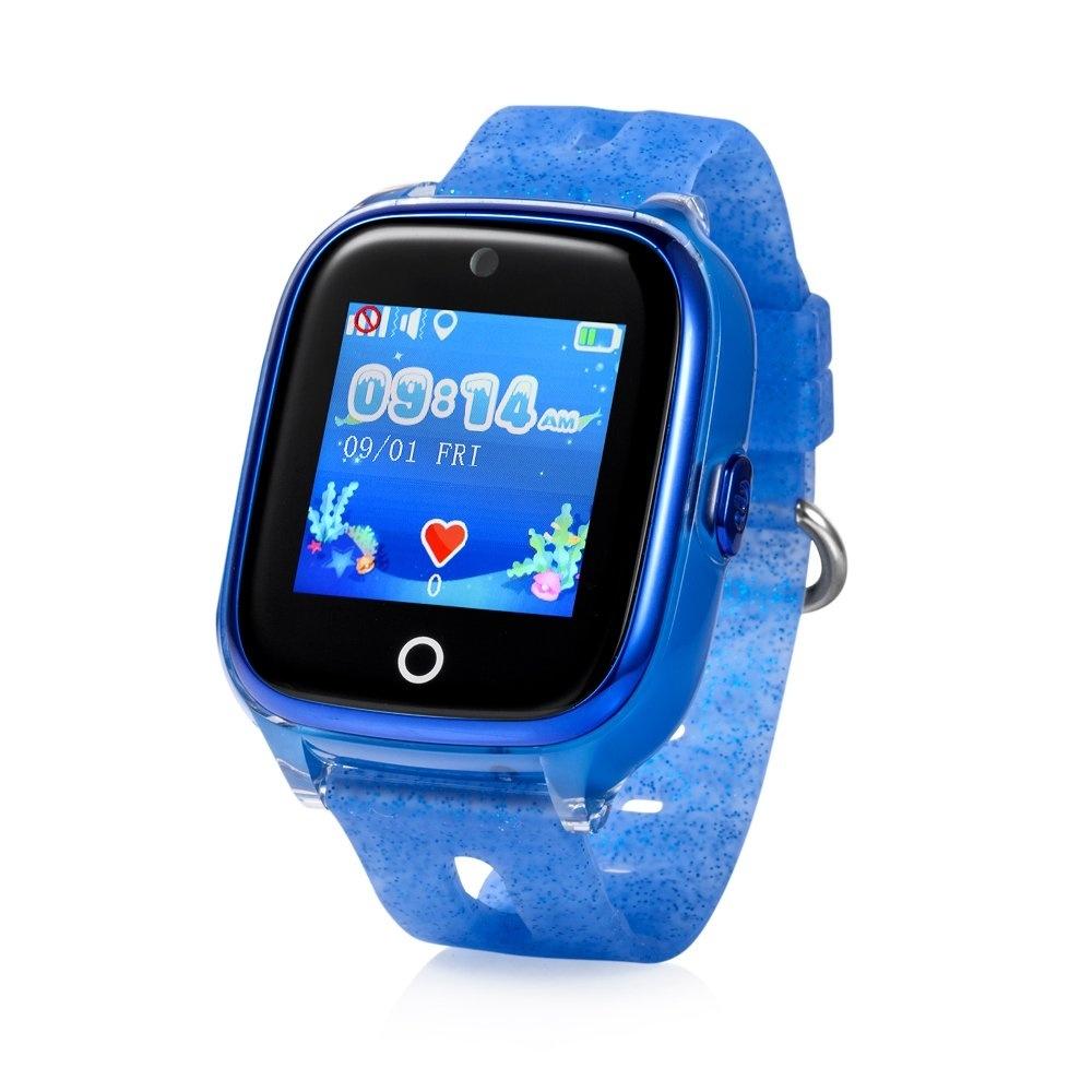 CEL-TEC  Detské hodinky s GPS a fotoaparátem KT01 Blue