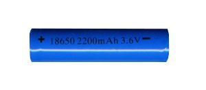 Batéria typ 18650 3.6V, 2200 mAh Li-ion, nabíjací