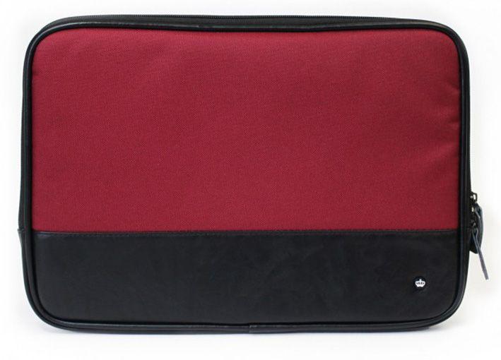 """PKG Primary Slip Sleeve pre MacBook Air/Pre 13"""" - čierná/červená"""