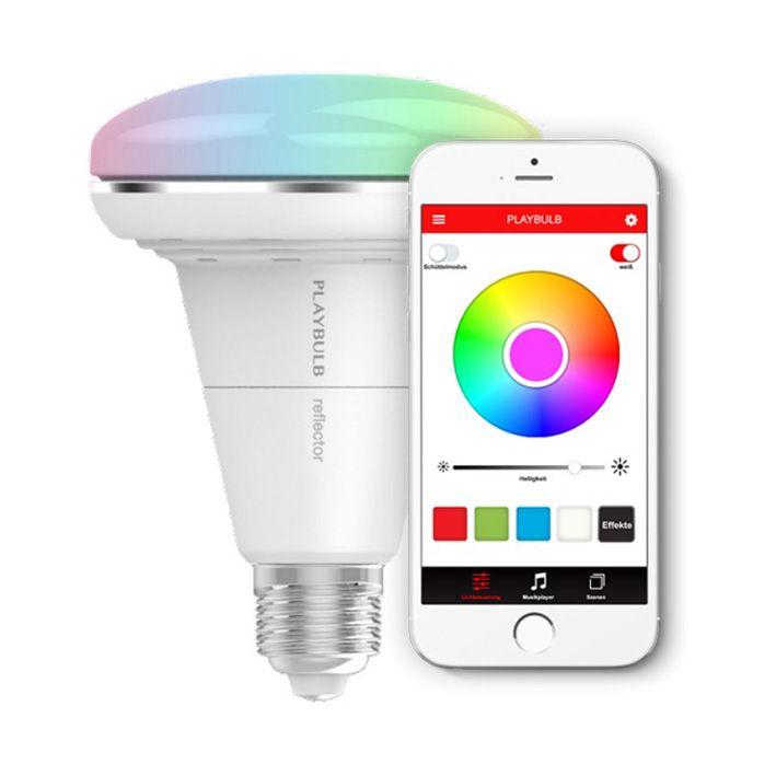 MiPow Playbulb™ Reflector inteligentná LED Bluetooth žiarovka
