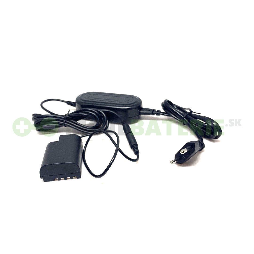 Napájací AC adaptér pre Panasonic Lumix DC-GH5/DC-GH5L/DC-GH5M
