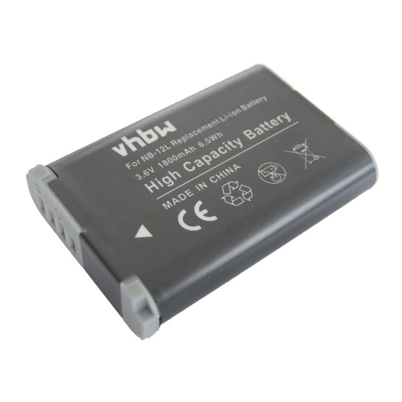 Batéria pre Canon NB-12L - 1800 mAh