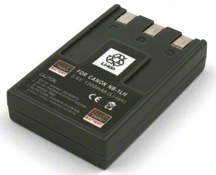 Batéria pre Canon NB-1L, NB-1LH - 1300 mAh