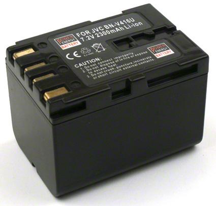 Batéria Jvc BN-V408, BN-V408U, BN-V416, BN-V416U, BN-V428, BN-V428U - 2300 mAh