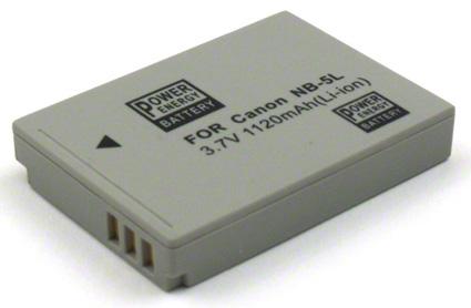 Batéria pre Canon NB-5L - 1120 mAh