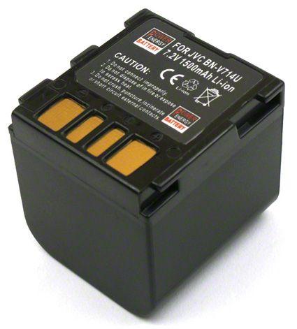 Batéria pre Jvc BN-VF707, BN-VF707U, BN-VF714, BN-VF714U, BN-VF714US, BN-VF733, BN-VF733U, BN-VF733US, LY34647-002B - 1500 mAh