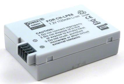 Batéria pre Canon LP-E8 - 1120 mAh