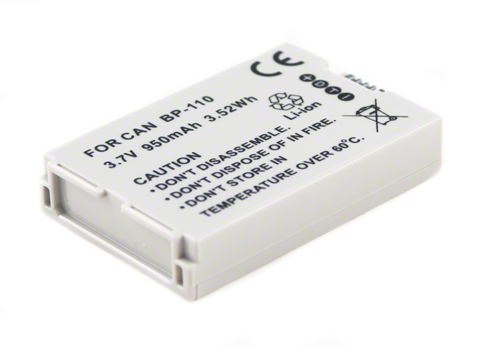 Batéria Canon BP-110 - 950 mAh