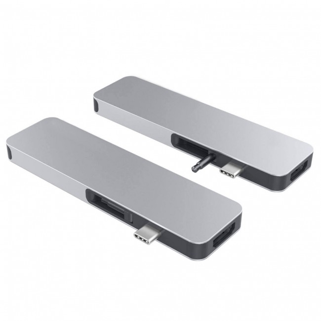 HyperDrive SOLO USB-C Hub pre MacBook & ostatní USB-C zariadenia - stříbrný