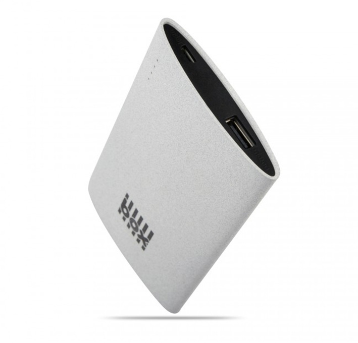 BOX Preducts 3000mAh Portable Smartphone Charger 2.1A - šedý