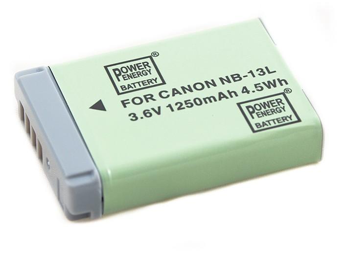 Batéria pre Canon NB-13L - 1250 mAh