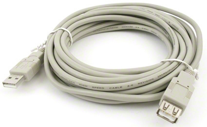 USB 2.0 kábel predlužovací AM-AF - 3 m
