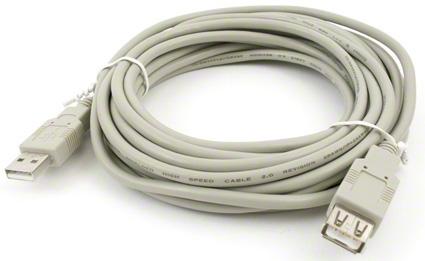 USB 2.0 kábel predlužovací AM-AF - 5 m