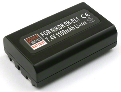 Batéria pre Nikon EN-EL1, Minolta NP-800 - 1100 mAh