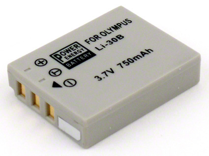 Batéria pre Olympus LI-30B - 750 mAh
