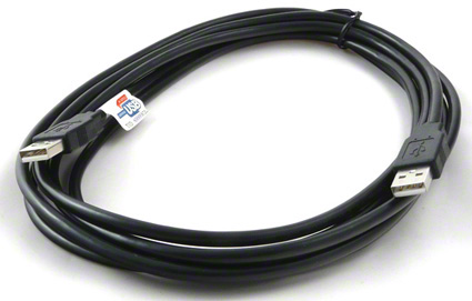 USB 2.0 kábel prepojovací AM-AM - 3 m