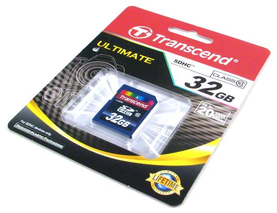 Pamäťová karta 32GB SDHC Card Class 10 - TRANSCEND