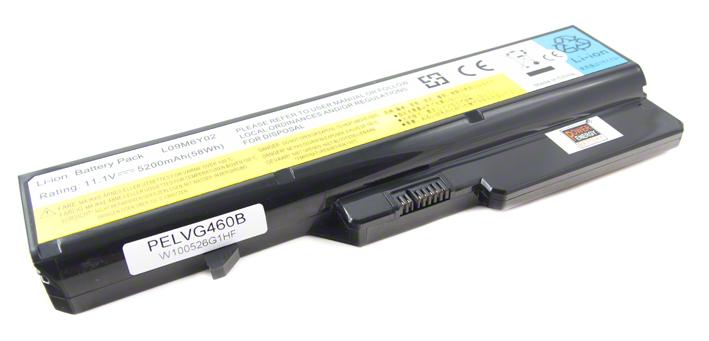 Batéria pre Lenovo B470, B570, G460, G560, G770, V370 - 5200 mAh