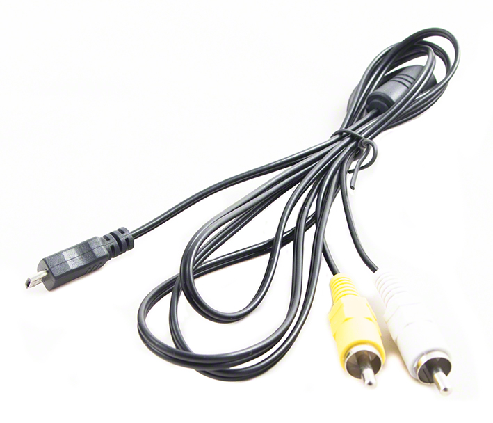 USB kábel pre fotoaparáty Samsung - EA-CB5MA11 - microUSB 5-pin - 2x CINCH